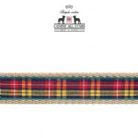 DOG COLLAR - AUTHENTIC SCOTTISH BUCHANAN TARTAN